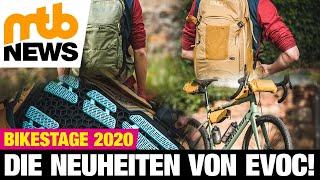 Evoc-Highlights 2020: Neue Rucksäcke, Bikepacking-Gear & ein exklusives Preview! | BikeStage 2020