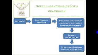 Новая презентация SOVA (Сова, ПК СОва, ПК Sova, PK Sova, холистинг)