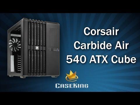 Corsair Carbide Air 540 ATX Cube - Caseking TV
