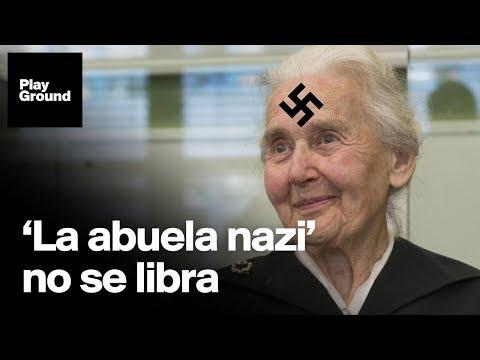 """La """"abuela nazi"""" encarcelada a sus 89 años."""