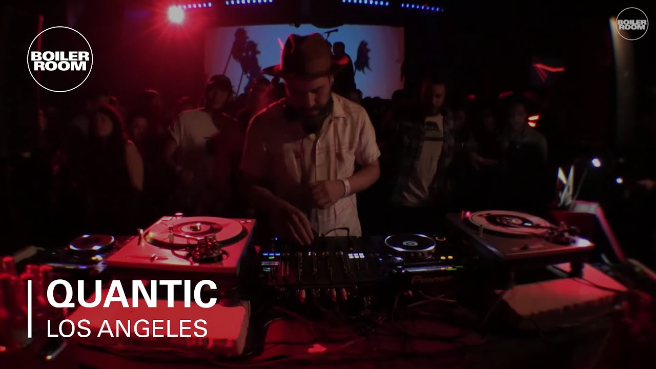 Quantic - Live @ Boiler Room x Budweiser Los Angeles 2017
