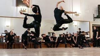 """Фрагменты одноактного балета """"Половецкие пляски"""". Балет Игоря Моисеева."""