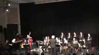 The Hofstra Jazz Ensemble. A night of Sinatra. One O'clock jump