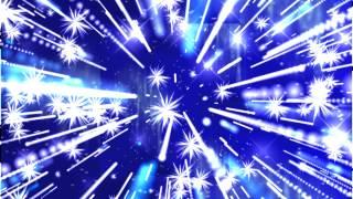Голубой фон с абстрактными звездами