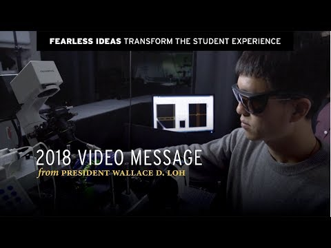 President Loh | Transform the Student Experience
