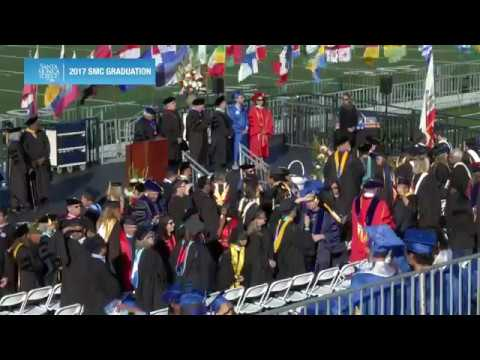 2017 Graduation - Santa Monica College (Full, CC)