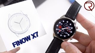 FINOW X7 Smart Watch - First Look & Hands-On