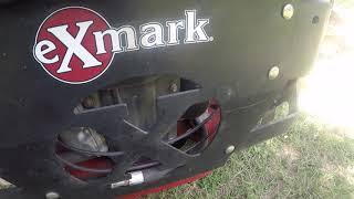 Exmark lazer bogging down