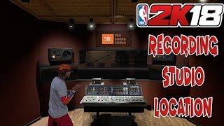 NBA 2K18 RECORDING STUDIO LOCATION - RECORDING STUDIO OBJECTIVE