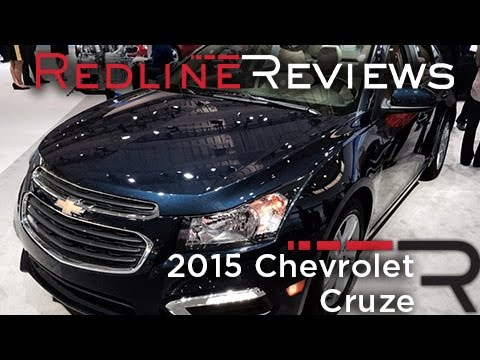 2015 Chevrolet Cruze - 2014 New York International Auto Show