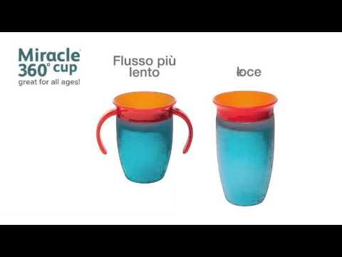 Munchkin Baby  Miracle Cup: la tazza magica antigoccia senza beccuccio