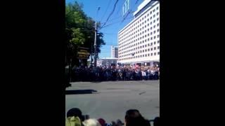 Парад военной технике в Воронеже 9 мая 2016 года