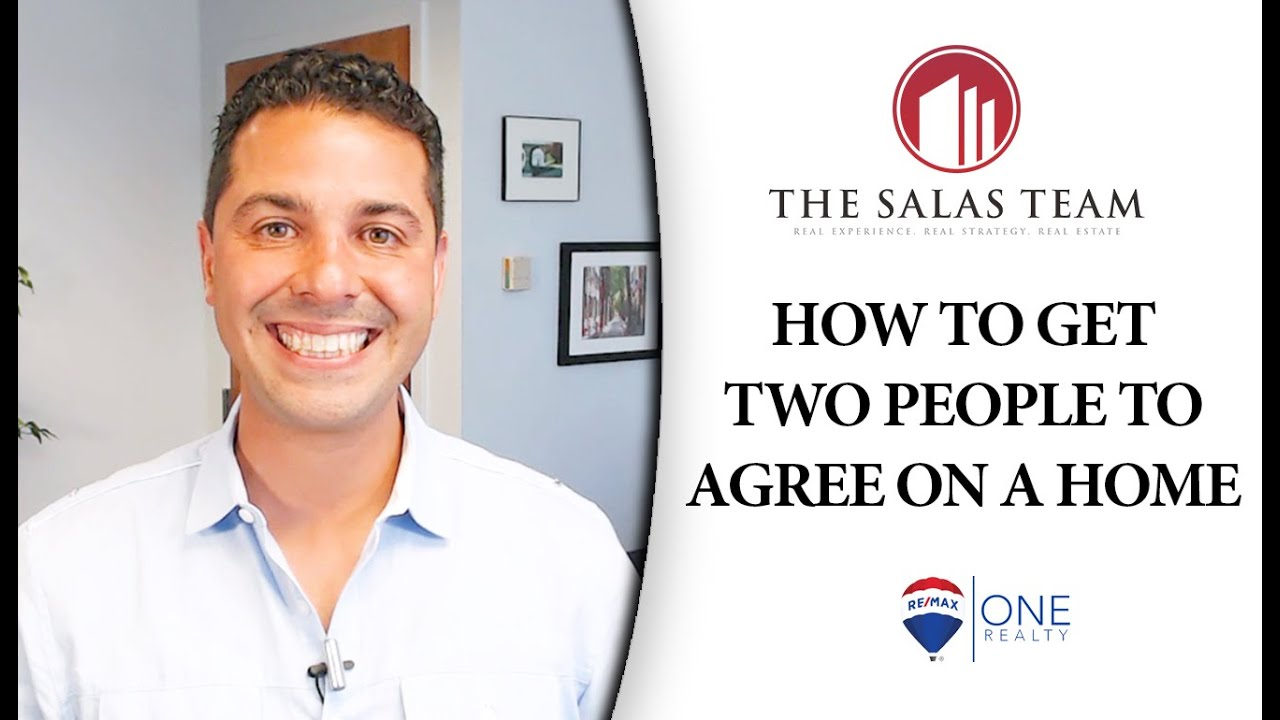 How Homebuyers With Two Different Opinions Can Come Together on One Home