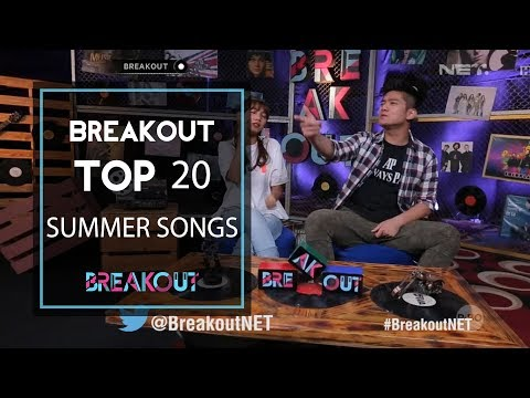 Breakout Top 20 Summer Songs Mp3