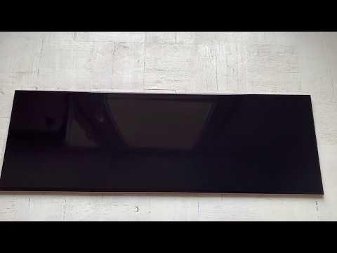 Płytka ścienna PLAIN czarna 20x60 gat. II