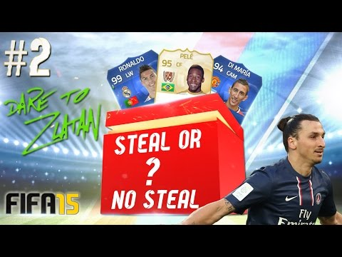 STEAL OR NO STEAL? #EP2 DARE TO ZLATAN?