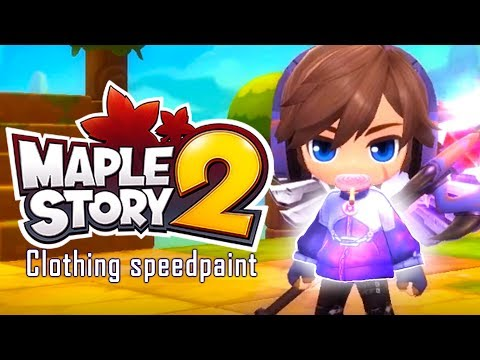 MapleStory 2 Customize Clothing and Selling Copies in