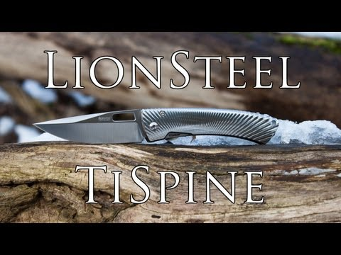 Leading Edge Technology: LionSteel TiSpine