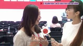 《世界青年創業論壇2016》創業青年Bonnie Chiu趙舜茹 - 性別不影響工作能力