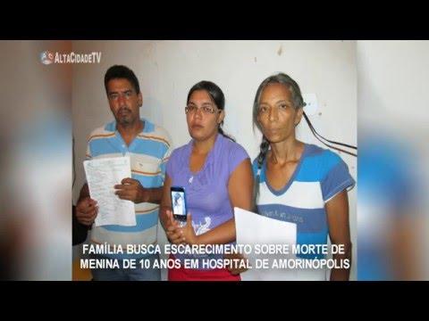Família Busca Esclarecimento Sobre Morte de menina em Hospital de Amorinópolis.