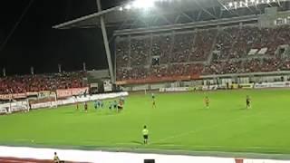 レノファ山口FCvs横浜FC 2018 J2リーグ第21節 STU48もレノファ山口の応援にやって来た!