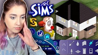 I tried building a house in The Sims 1 in 2019