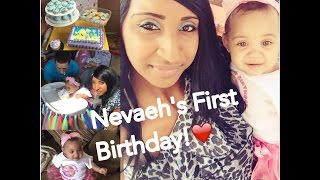 Nevaehs 1st Birthday!♥ 5/30/16 - Bubble Guppies Theme