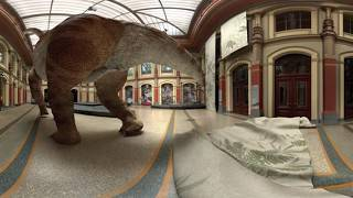 Google оживил динозавров 2d, 3d, 360.Giraffatitan׃Back to Life in Virtual Reality #PreviouslyOnEarth