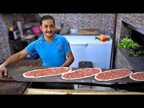 Turkish Pide Lahmacun Kebap Recipe Turkish Pizza Traditional Food