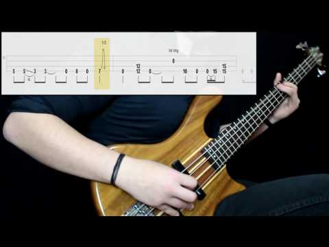 Tool - Vicarious (Bass Cover) (Play Along Tabs In Video)