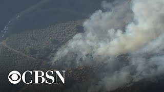 Apple Fire In Californias Riverside County Continues To Grow