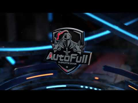 AutoFull Racing Gaming Chair, Black-Pink