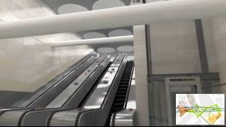 preview picture of video 'Victoria Tube station - your future journey - Tube improvements [no audio]'