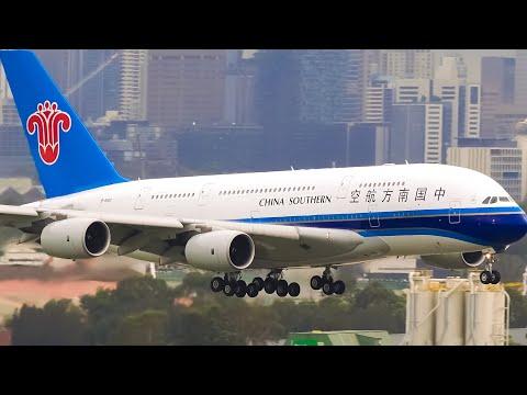 HEAVY Aircraft Landings CLOSE UP | Sydney Airport Plane Spotting