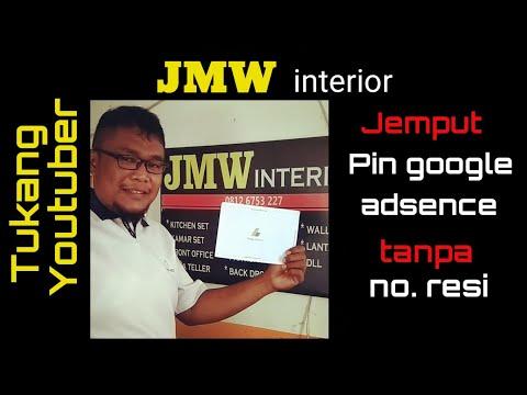 Jemput Pin google adsence tanpa no. resi ke kantor pos