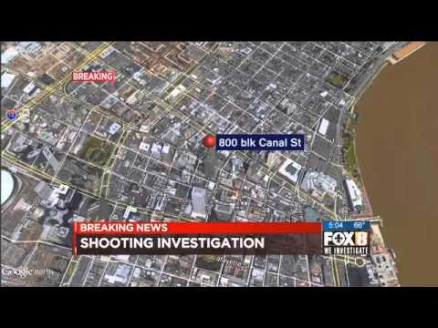 Video captures shooting on Canal Street Feb. 3, 2016 (Graphic violence)
