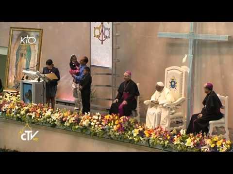Le Pape François rencontre le monde du travail à Ciudad Juarez