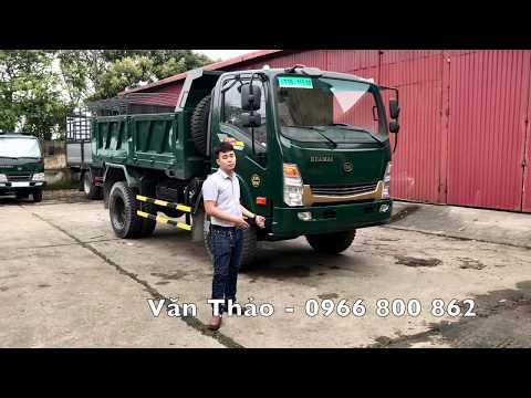 Xe tải ben Hoa Mai 6,45 tấn Euro2