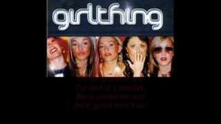 Girl thing - Last one standing (lyrics)