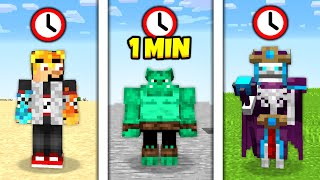 Minecraft, ale KAŽDOU MINUTU jsem EXTRÉMNÍ mob...