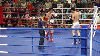 PRO-AM Турнир Россия vs Киргизия, 3 бой, 3 раунд