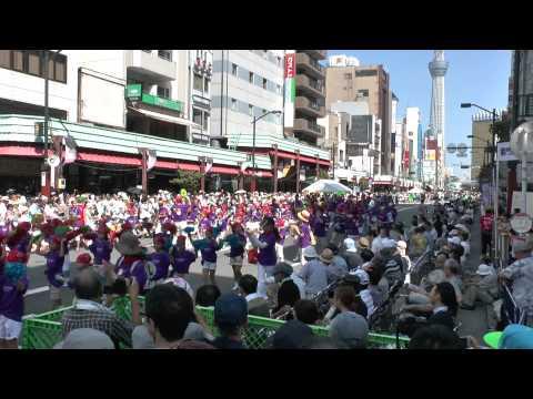 浅草サンバ2013〜台東区立浅草小学校