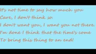 Delete you - Ashley Tisdale lyrics