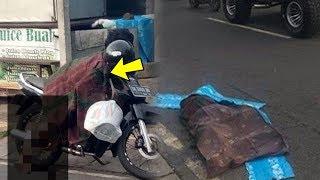 Viral di Medsos, Mayat Wanita Jatuh dari Sepeda Motor di Denpasar, Begini Faktanya