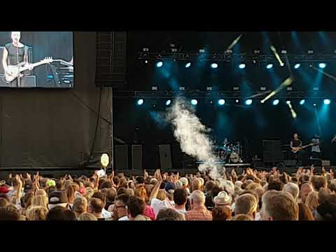 Sting - My Songs Tour 25.6.2019 - Walking on the moon