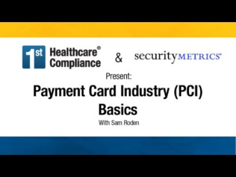 Payment Card Industry (PCI) Basics - YouTube