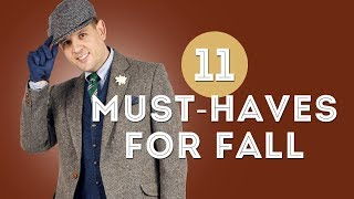 11 Must Have Mens Items For Fall Autmn