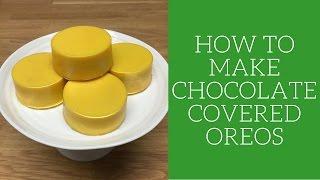 How To Make Chocolate Covered Oreos
