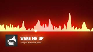 Avicii - Wake Me Up (EDX Miami Sunset Remix)