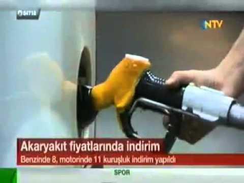 Das Benzin der Preis ai-95 für die Tankstelle